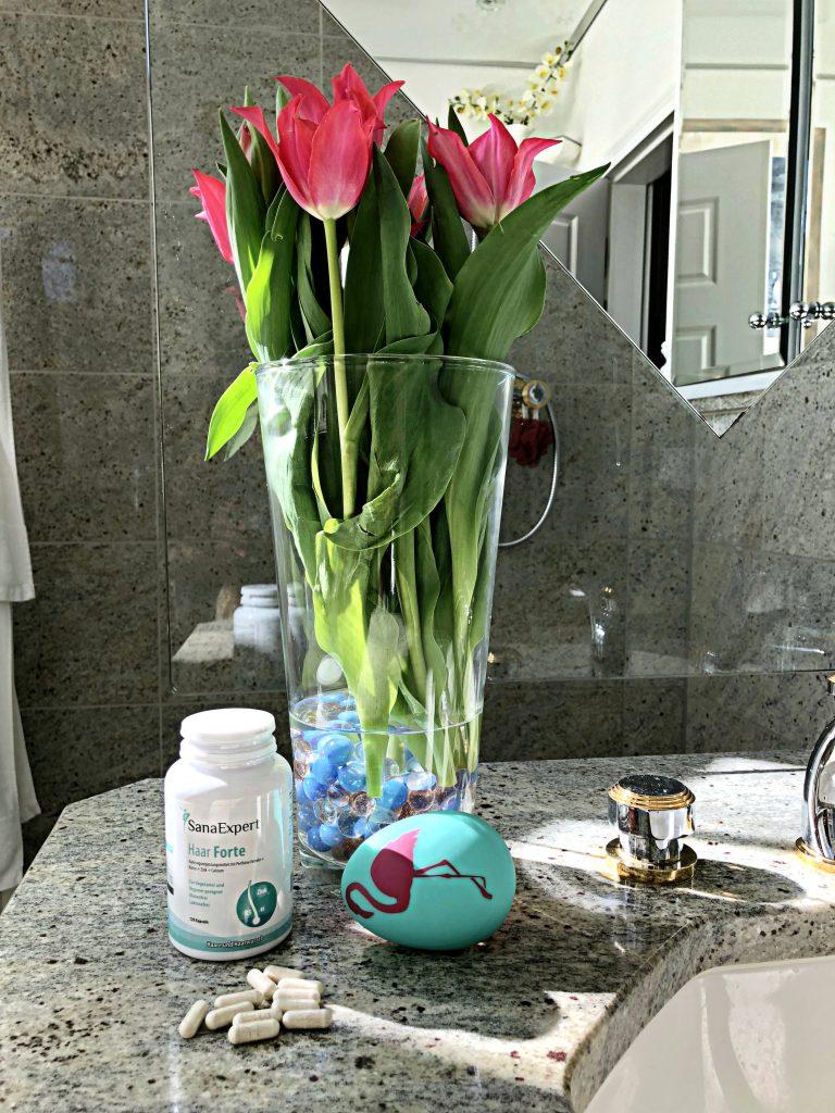 Blumen und Haar Forte Kapseln