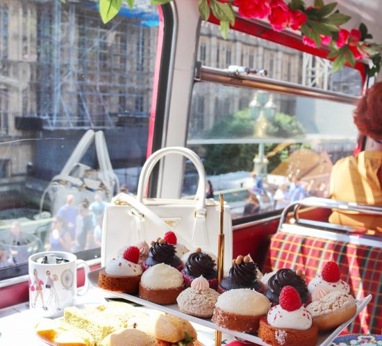 Afternoon tea bus