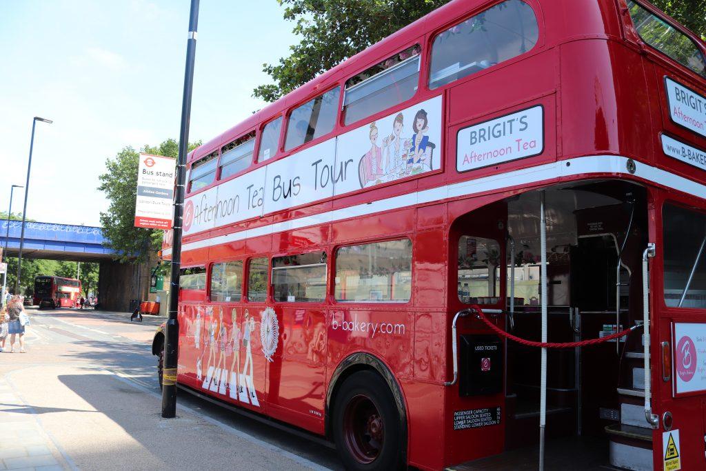 Afternoon tea bus