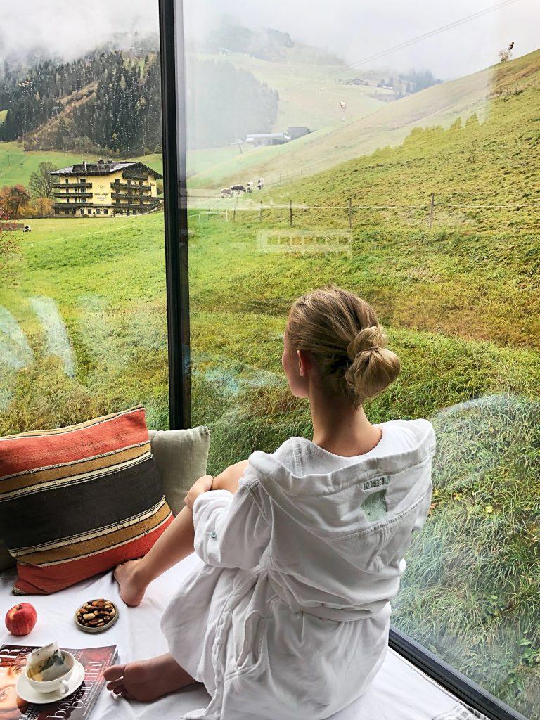 wiesergut hotel, saalbach, hinterglemm, austria, spa hotel